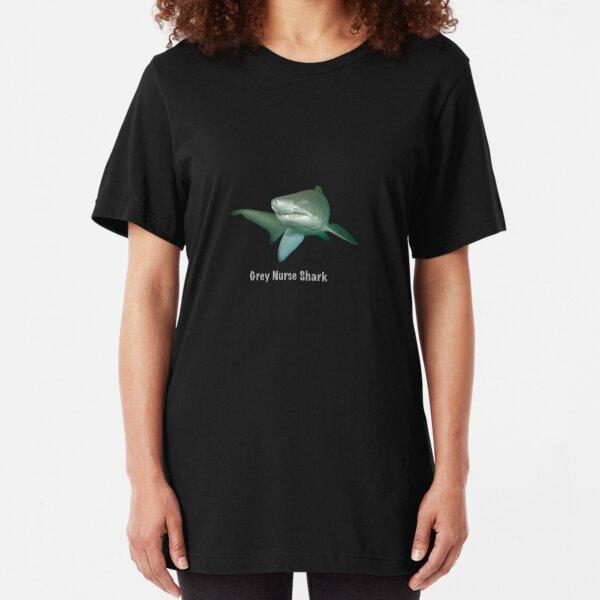 Grey nurse shark - T-shirt Slim Fit T-Shirt