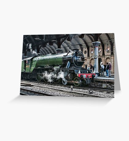 4472 Flying Scotsman Greeting Card