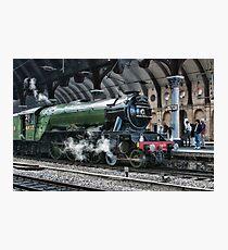 4472 Flying Scotsman Photographic Print