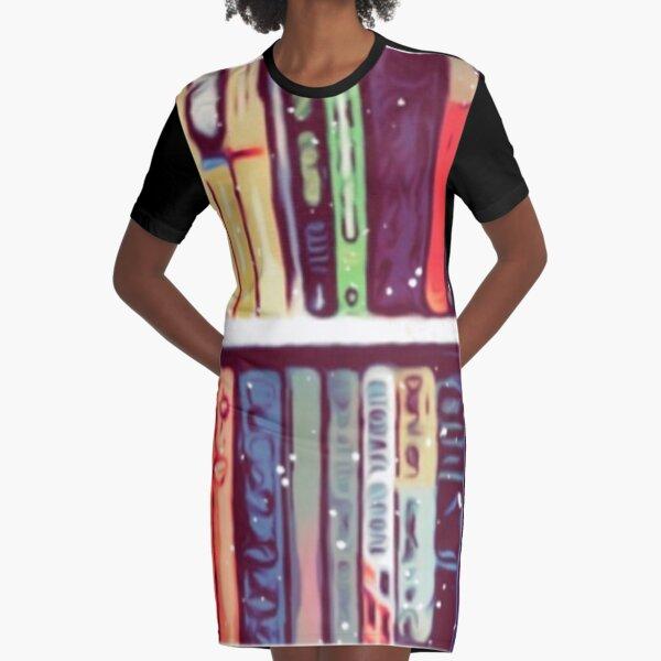Bookworm  Graphic T-Shirt Dress