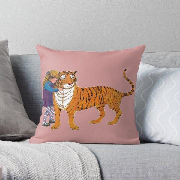 The Tiger Who Came to Tea Throw Pillow