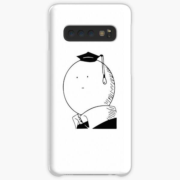 Assassination classroom Koro Sensei Black and White Samsung Galaxy Snap Case