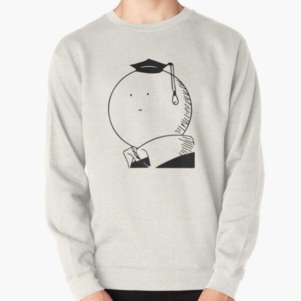 Assassination classroom Koro Sensei Black and White Sweatshirt épais