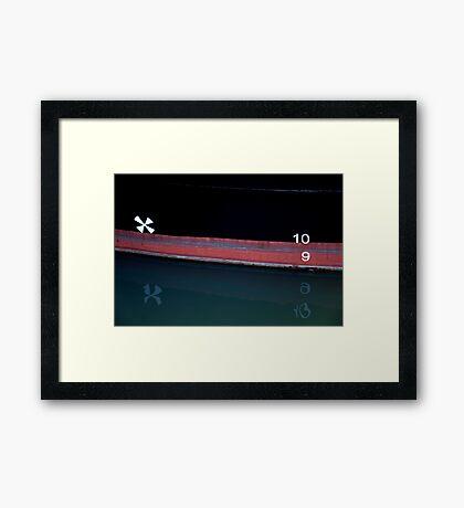 Plimsoll Line Framed Print