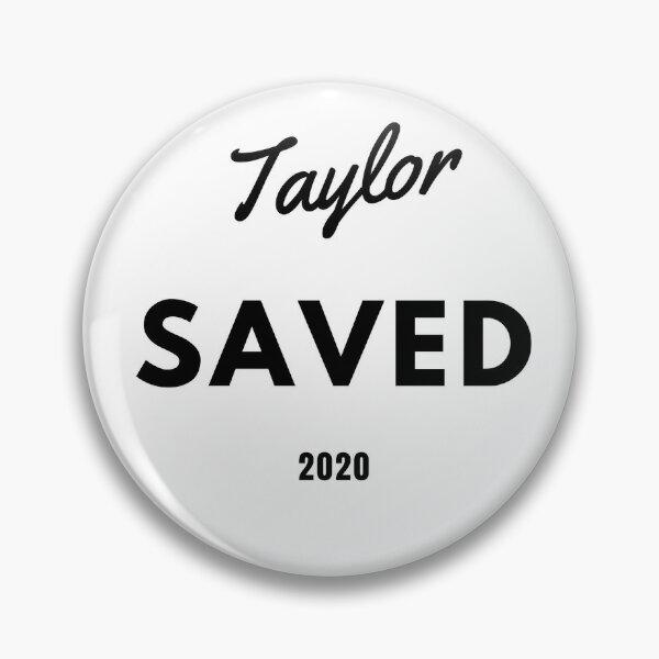 Taylor Swift Enregistré 2020 Badge