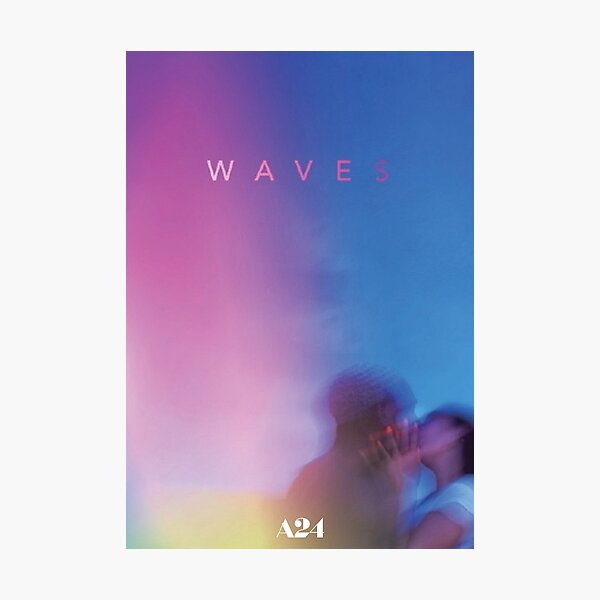 Waves A24 Photographic Print
