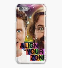 Tim And Eric- Zone Theory iPhone Case/Skin