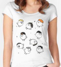 Karasuno crows Women's Fitted Scoop T-Shirt
