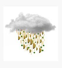 Raining Tacos Photographic Print