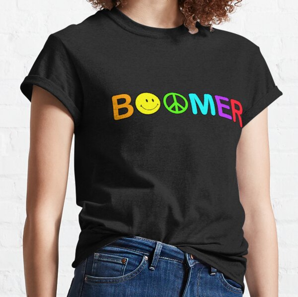 Boomer - on black Classic T-Shirt