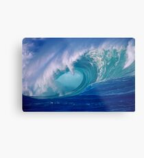 Powerful Hawaiian North Shore Wave Metal Print