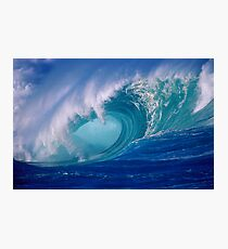 Powerful Hawaiian North Shore Wave Photographic Print