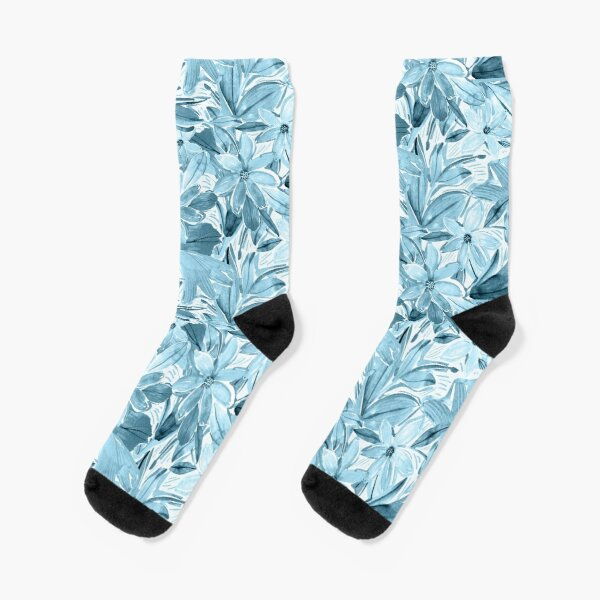 In Blue Heaven Socks