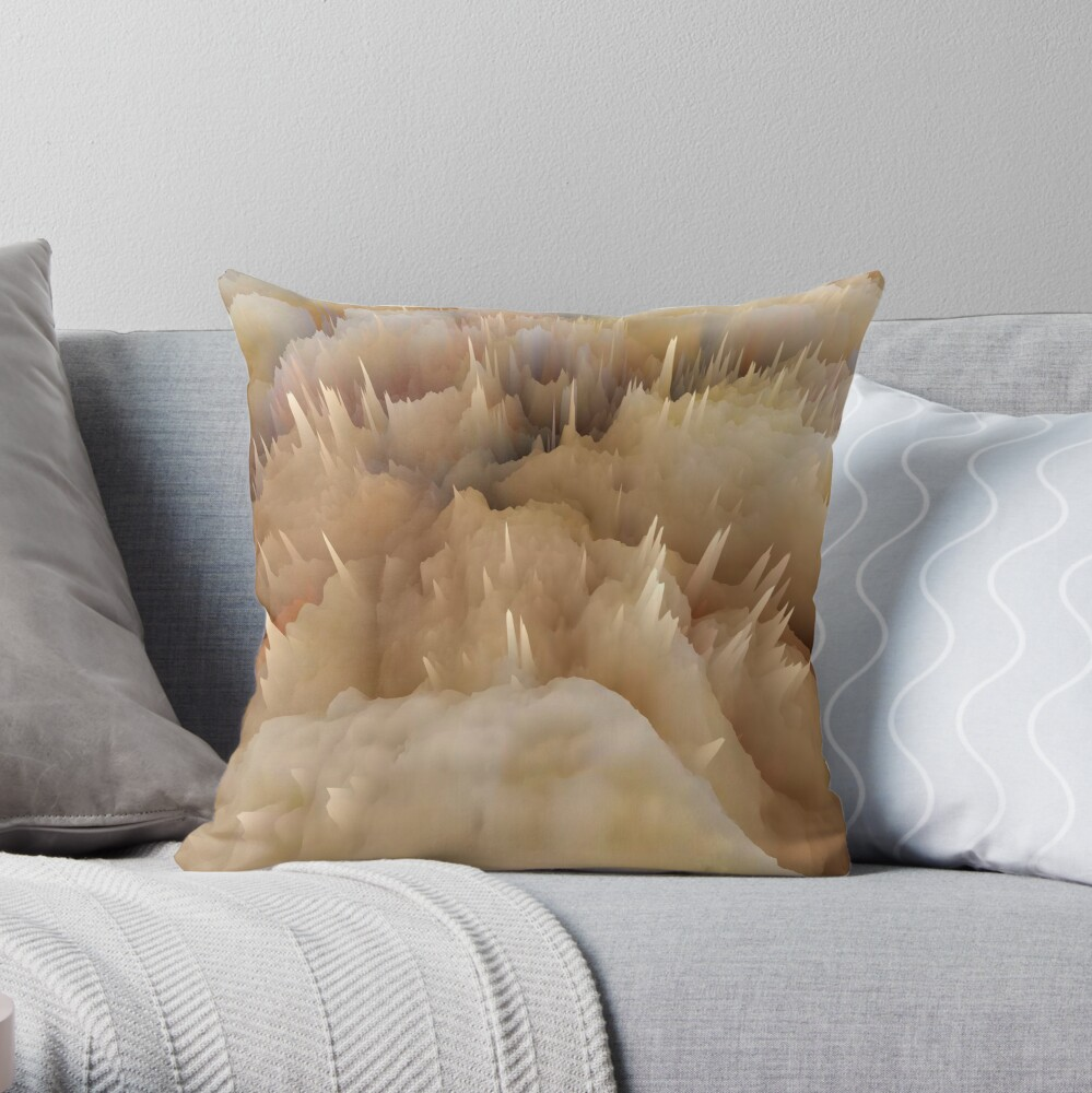 Abstract acrylics patterns Abstract art collection design no. 001 Throw Pillow