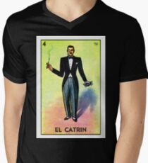 El Catrin  Men's V-Neck T-Shirt
