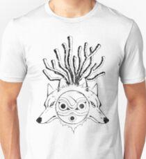 Wolf Princess (Black) Unisex T-Shirt