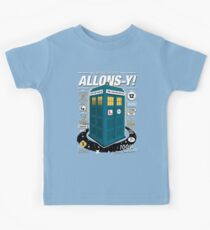 Time Traveling Lessons Kids Tee