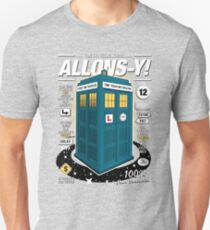 Time Traveling Lessons T-Shirt