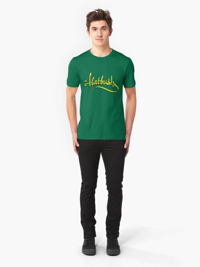 Alternate view of Flatbush  Slim Fit T-Shirt