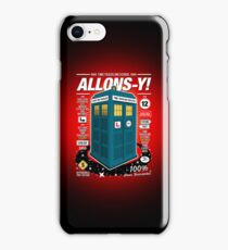 Time Traveling Lessons iPhone Case/Skin