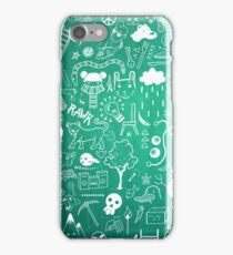 Winter Madness Blue iPhone Case/Skin