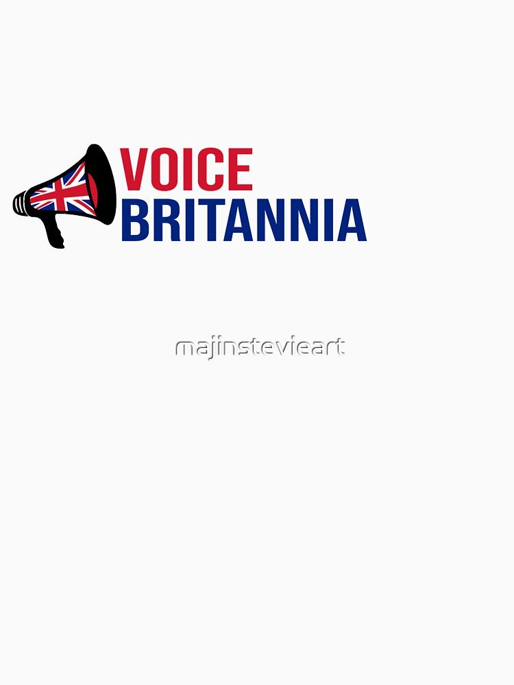 Voice Britannia - The T-shirt by majinstevieart