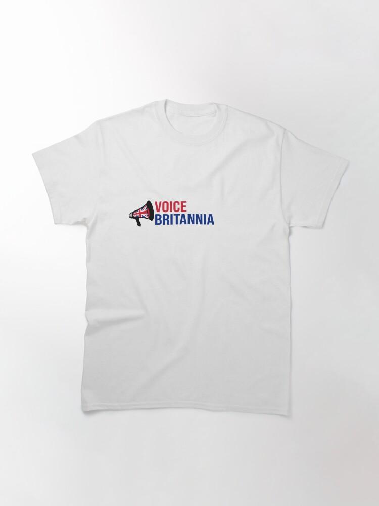 Alternate view of Voice Britannia - The T-shirt Classic T-Shirt