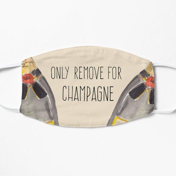 """""""Nur für Champagner entfernen""""! Flache Maske"""