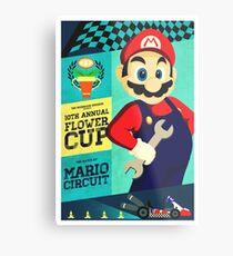 Mario Kart Race  Metal Print