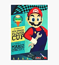 Mario Kart Race  Photographic Print