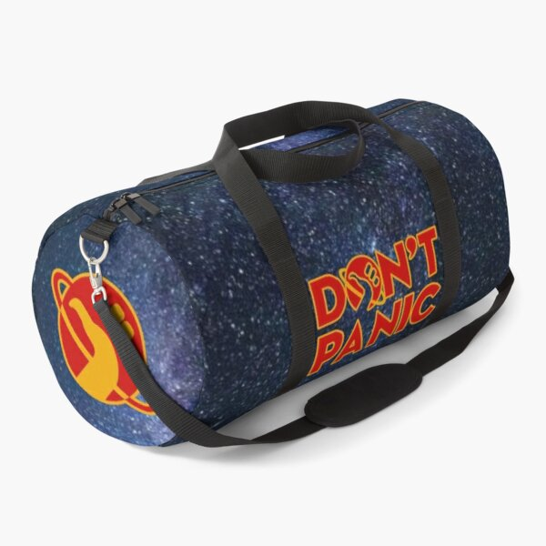 Don't panic The Hitchhiker's Guide to the Galaxy Duffle Bag