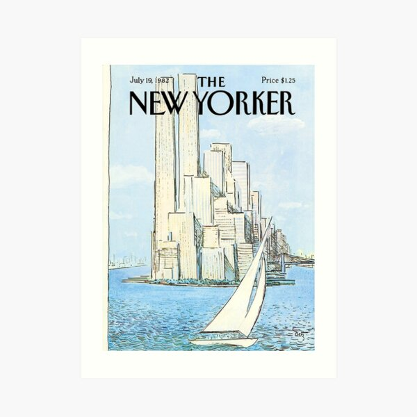The New Yorker - 19 July 1982  Art Print
