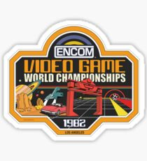 ENCOM Video Game Championships Sticker