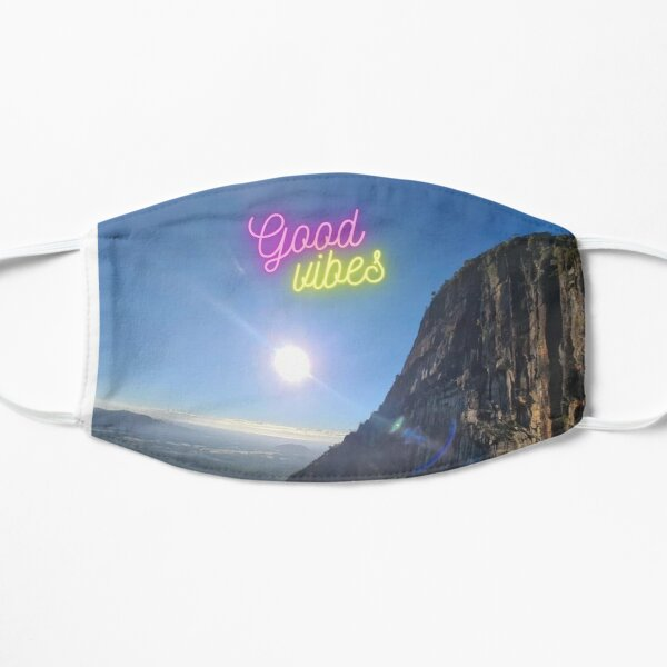 Glasshouse mountains in Queensland,Australia Mask