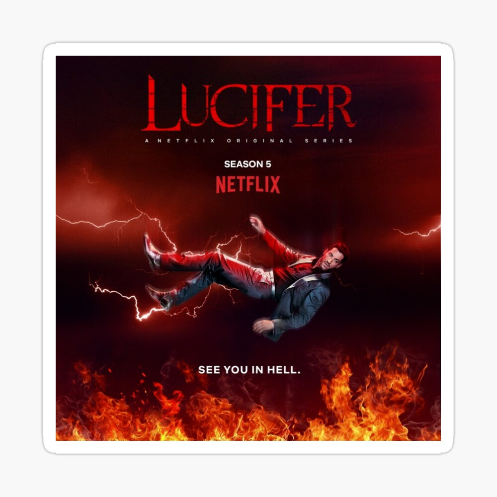 Lucifer Season 5 Poster Poster By June Odin Redbubble