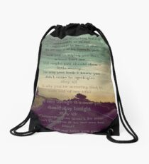"One Direction  - ""Love You Goodbye"" Drawstring Bag"