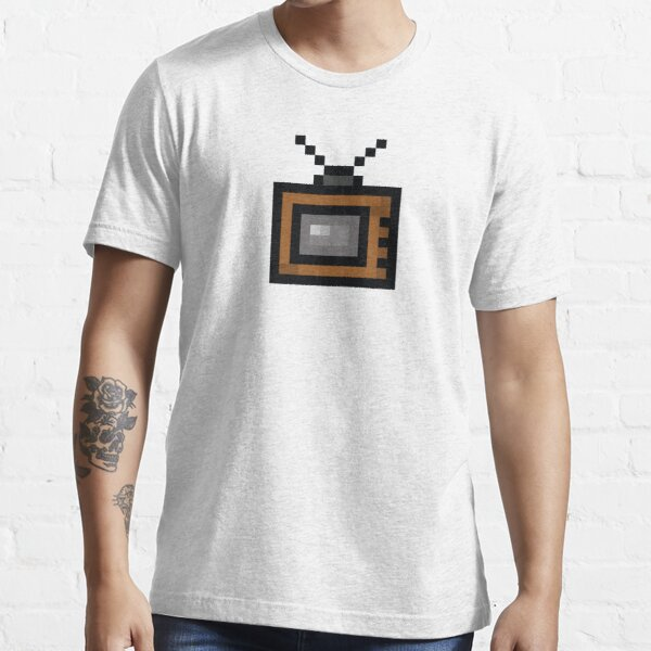 Television Pixel Icon Essential T-Shirt