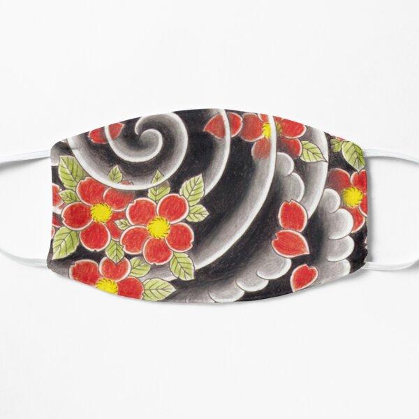Goro Majima Hanya tattoo background pattern  Flat Mask