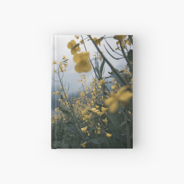 Rapeseed days Hardcover Journal