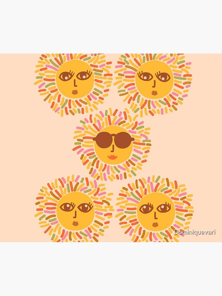 Retro Sunshine Parti - Summer vibes #positivevibes by Dominiquevari