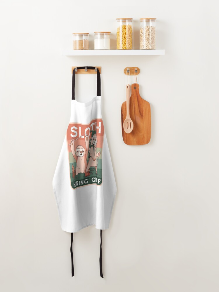 Alternate view of SLOTH HIKING CLUB CAMPING CAMP  Apron