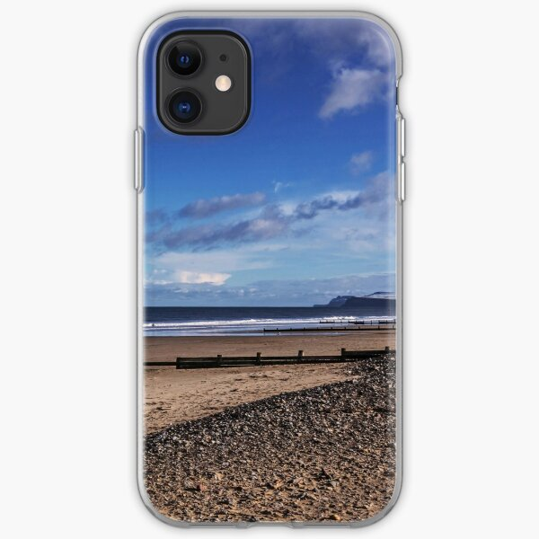 Redcar Beach iPhone Soft Case