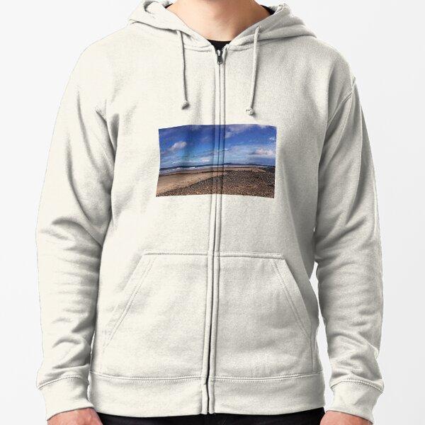 Redcar Beach Zipped Hoodie