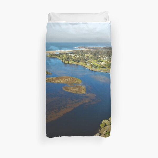 Jigsaw Mallacoota Inlet Winter 2020 Duvet Cover