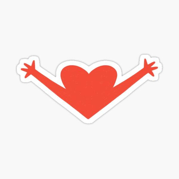 OPEN HEART  Sticker