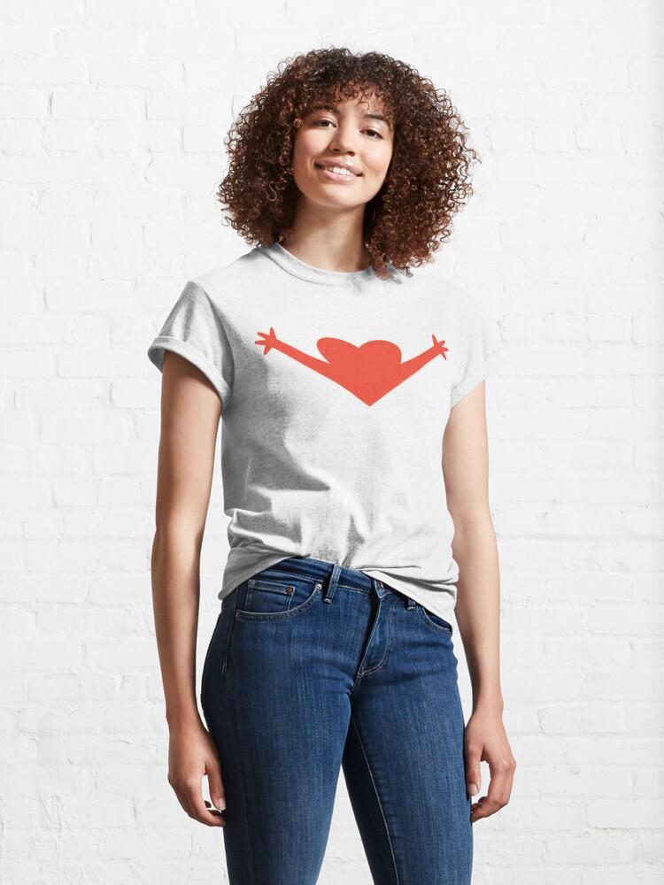 Alternate view of OPEN HEART  Classic T-Shirt