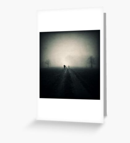 Ghosts That We Knew Greeting Card