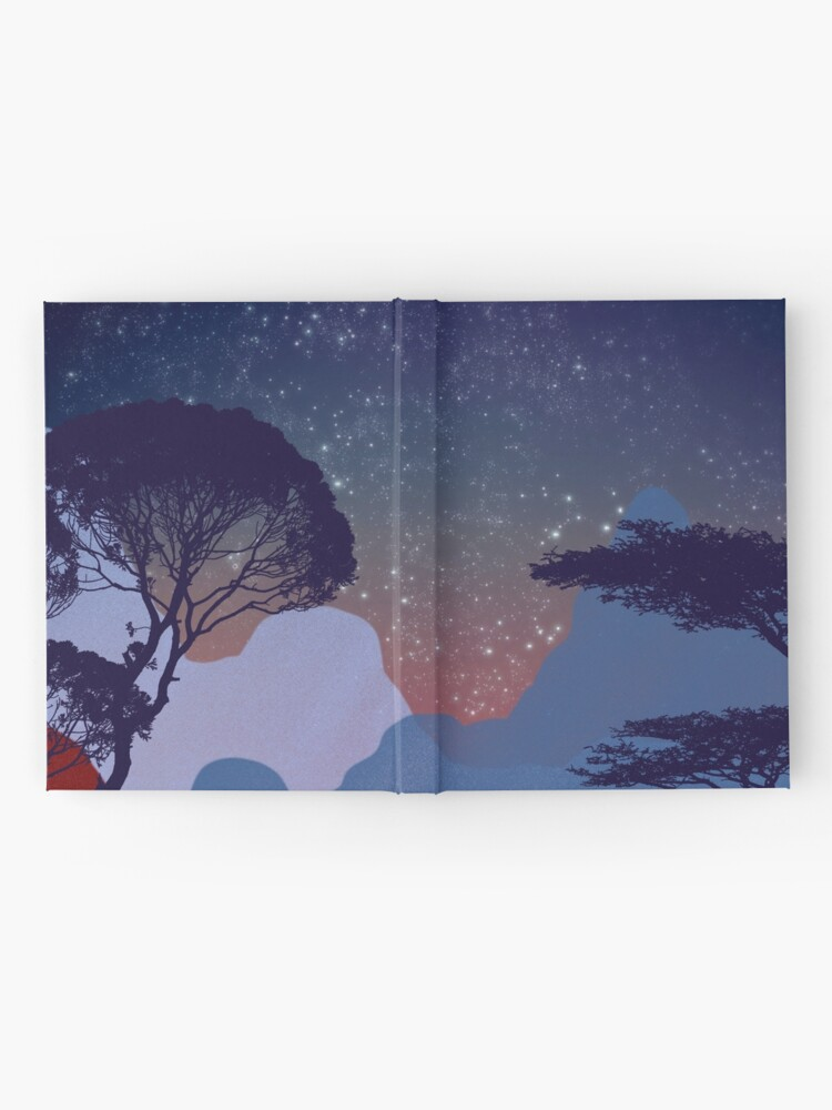 Alternate view of Nightscape Hardcover Journal