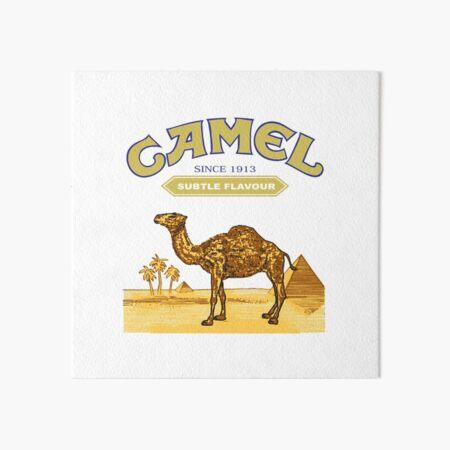Camel Cigarettes Art Board Print