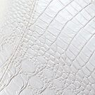 White Leather - iPhone Case by HoskingInd